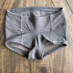 Lululemon shorts size 0 black